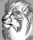 Cartoon: Doowa Majestic (small) by funny1271 tagged lion