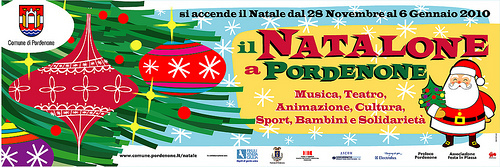 Cartoon: NATALONE A PORDENONE 2009 - 2 (medium) by zellaby tagged christmas,natale,pordenone,zellaby