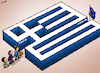 Cartoon: Greek Maze (small) by cartoonistzach tagged greece,syria,refugee,migrant,humanrights,war,violence,eu,europe,turkey,maze