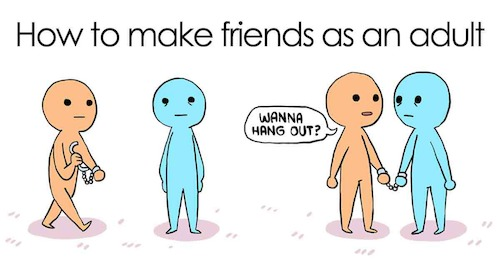 Cartoon: Make Friend Online (medium) by Guiltypleasure tagged friend
