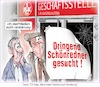 Cartoon: FCK in der Krise (small) by Ritter-Karikaturen tagged ritter,karikatur