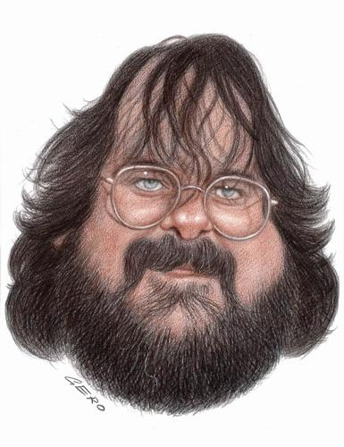 Cartoon: Peter Jackson (medium) by Gero tagged caricature