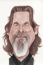 Cartoon: Jeff Bridges (small) by Gero tagged caricature