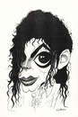 Cartoon: Michael Jackson (small) by Gero tagged caricature