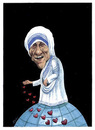 Cartoon: Mother Teresa (small) by Gero tagged caricature