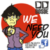 Cartoon: DOSDE fanzine ad (small) by lexgromiko tagged ad,dosde,fanzine,we,need,you