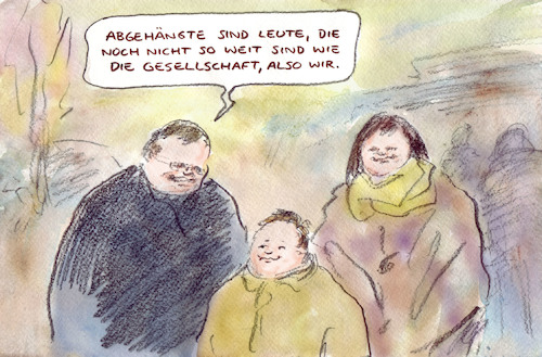 Cartoon: Definition (medium) by Bernd Zeller tagged sprache