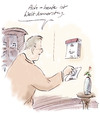Cartoon: Tag (small) by Bernd Zeller tagged tag,welt,welttag