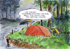 Cartoon: Verregnet (small) by Bernd Zeller tagged regen,wetter,sommer,klimawandel