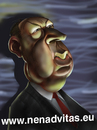 Cartoon: Hitchcock (small) by Nenad Vitas tagged horor,psiho,film