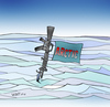 Cartoon: Bullets over ice (small) by wyattsworld tagged arctic,military,canada,russia
