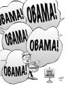 Cartoon: Harper at the Americas (small) by wyattsworld tagged harper,americas,obama