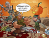 Cartoon: Psycho Vikings 3 (small) by Charmless tagged halloween,kürbis,wikinger