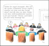 Cartoon: Kabinettssitzung (small) by Fish tagged merkel,politik,maas,syrien,kramp,karrenbauer