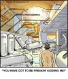 Cartoon: Cryonics (small) by noodles tagged cryonics,nuclear,apocalypse