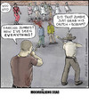 Cartoon: The Moonwalking Dead (small) by noodles tagged the,walking,dead,zombies,thriller,michael,jackson,dancing