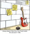 Cartoon: Wall Post (small) by noodles tagged wall,post,facebook,pink,floyd,music,noodles