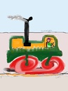 Cartoon: just color art (small) by ceesdevrieze tagged art