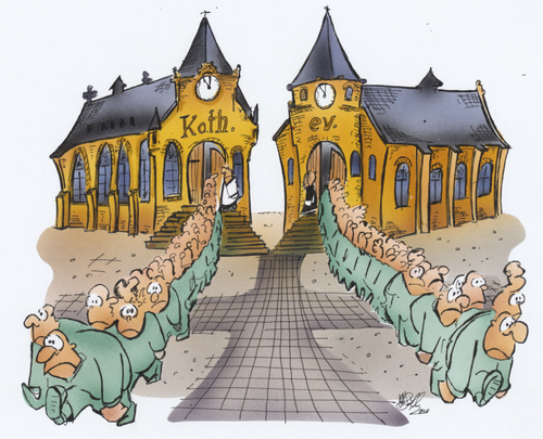 Cartoon: Kirche (medium) by HSB-Cartoon tagged kirche,glaube,beten,katholisch,evangelisch,pastor,priester,kirche,glaube,beten,katholisch,evangelisch,pastor,priester,religion,illustration
