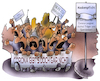 Cartoon: Coronademo (small) by HSB-Cartoon tagged covid19,corona,pandemie,demo,demonstration,querdenker,querdenkerdemo,aluhutträger,lockdown,cartoon,verbot,coronaleugner