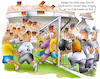 Cartoon: Deutschland vs Schweden (small) by HSB-Cartoon tagged wm,wm2018,deutschland,schweden,nationalmannschaft,fußball,fussball,fussballspiel,fußballspieler,sport,sportreporter,sportberichterstatter,sportfotograf,sportfotograph,nationalspieler,abwehr,stürmer,abwehrspieler,torwart,eckball,cartoon,worldchampionship,presse,journalist,journalismus,championship,fifa
