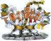 Cartoon: Diät (small) by HSB-Cartoon tagged diät,fasten,koch,küche,gastronome,gastronomie,gastwirtschaft,restaurant,lokal,essen,mahlzeit,speise,getränke,menü,menue,diner,lunch,speisekarte,gastwirt,gaststätte,karikatur,cartoon,cook,kitchen,inn,pub
