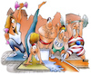 Cartoon: Fitness (small) by HSB-Cartoon tagged fitness,sport,gymnastik,sportler,fitnessprogramm,sportprogramm,körperertüchtigung,gym,hanteln,jogging,laufen,training,schwimmen,gewichtheben,gewichtheber,sportcartoon,bodenturnen,aerobic,turnen,turnverband,turnbund,sportverein,athlet,cartoon,hsbcartoon