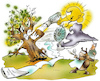 Cartoon: Forstwirtschaft (small) by HSB-Cartoon tagged hot,hurricane,insects,nature,storm,warm,weather,airbrush,baum,baumbestand,baumwachstum,cartoon,dürre,forstwirtschaftsplan,herbst,hitze,hsb,hsbc,hsbcartoon,insekten,insektenbefall,karikatur,karrikatur,klima,klimawandel,käfer,natur,naturkatastrophen,niederschlag,orkan,plan,planung,sommer,sonne,sturm,tornado,umwelt,wald,waldbestand,wetter,wetterkapriolen,wälder,wärme,erwärmung