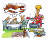 Cartoon: Grill (small) by HSB-Cartoon tagged grill,grillen,grillfleisch,grillspies,essen,trinken,mann,frau,grillabend,grillzeug,garten,grillwurst,party,feier,barbeque,airbrushcartoon,airbrushkarikatur,karikatur,cartoon,cartoons,airbrushillustration