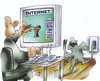 Cartoon: Internetsicherheit (small) by HSB-Cartoon tagged internet,internetsicherheit,sicherheitssystem,sicherungsprogramm,it,sicherheit,user,surfer,computer,pc,computersicherung,homepage,google,facebook,outlook,online,bankingsicherungsprogramm,www,world,wide,web,skype,karikatur,caricature,programmierer,hacker,b