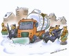 Cartoon: Salzknappheit (small) by HSB-Cartoon tagged salt,tightness,traffic,winter,snow,ice,security,salz,verkehr,schnee,eis,sicherheit,cartoon,hsb,hsbcartoon,hsbcartoonde,airbrush,airbrushcartoon,airbrushart,karikatur