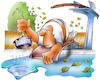 Cartoon: Stöpsel ziehen (small) by HSB-Cartoon tagged autumn,closing,leaves,summer,swim,swimming,pool,weather,airbrush,badeanstalt,baden,badesaison,freibad,freibadsaison,herbst,hsb,hsbcartoon,karikatur,laub,lokalkarikatur,saison,saisonende,schließung,schluss,schwimmbad,schwimmen,sommer,stöpsel,wetter,wetterumschwung