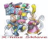 Cartoon: X-mas slave (small) by HSB-Cartoon tagged xmas,christmas,weihnachtweihnachten,present,geschenke,couple,cartoon,caricature,airbrush