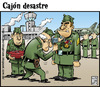 Cartoon: condecoracion (small) by Wadalupe tagged army,ejercito,condecoracion