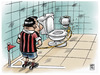 Cartoon: corner (small) by Wadalupe tagged corner,futbol,football,centro,balon,match,partido,deporte