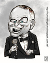 Cartoon: frank sinatra (small) by Wadalupe tagged sinatra,cine,singer,cantante,star,estrella,actor,mito,famoso
