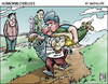 Cartoon: todo sea por la propina (small) by Wadalupe tagged golf,caddy,deporte,propina
