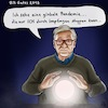 Cartoon: Bill Gates der Hellseher (small) by LaserLurch tagged corona,covid,virus,bill,gates,impfungen,impfpflicht,hellseher,pandemie