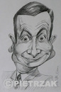 Cartoon: Rowan Atkinson (small) by Darek Pietrzak tagged mr,bean,atkinson,rowan,caricature,film