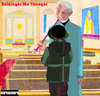 Cartoon: Ratzinger the Younger (small) by nerosunero tagged ratzinger,pope,abuse,children