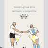Cartoon: The final game (small) by nerosunero tagged nerosunero,world,cup,germany,argentina,popes,sport,religion