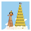 Cartoon: Vincenzina Everest (small) by Giuseppe Scapigliati tagged strip