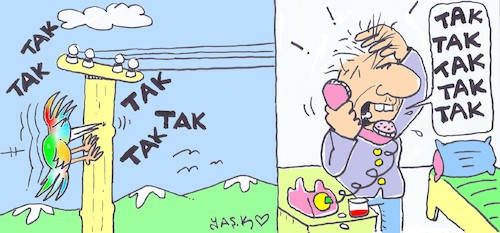 Cartoon: emergency call (medium) by yasar kemal turan tagged emergency,call