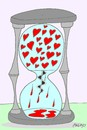 Cartoon: pain sweet (small) by yasar kemal turan tagged auger life pain sweet love
