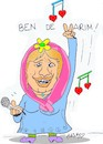 Cartoon: Dilber Ay (small) by yasar kemal turan tagged dilber,ay
