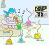 Cartoon: love skein (small) by yasar kemal turan tagged love,skein,fakir
