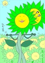 Cartoon: lovers-Titanic (small) by yasar kemal turan tagged titanic,love,lovers,sunflower
