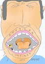 Cartoon: rotten tooth (small) by yasar kemal turan tagged rotten,tooth