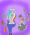 Cartoon: world situation (small) by yasar kemal turan tagged world,situation