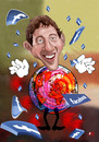 Cartoon: Mark  Zuckerberg (small) by aungminmin tagged zuckerbook